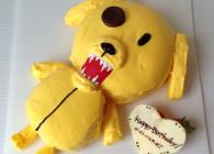 お好きなキャラクターをそのままケーキに!!インパクト大です☆